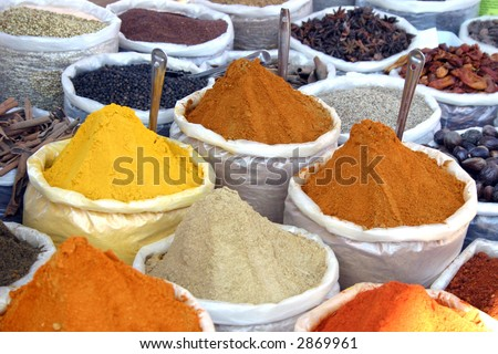 India Spice - stock photo