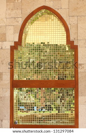 Indian arches modern style decoration - stock photo
