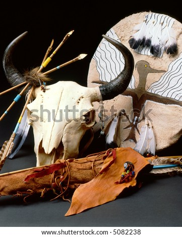 Indian artifacts - stock photo