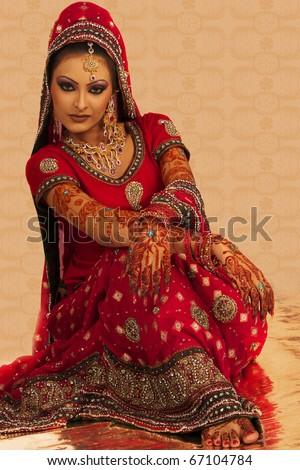 Indian Bride - stock photo