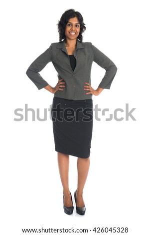 indian business female - stock photo