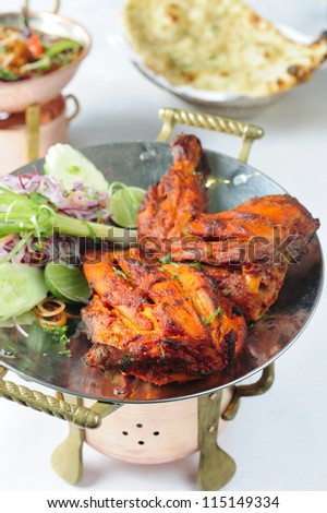 Indian Chicken Tikka - stock photo