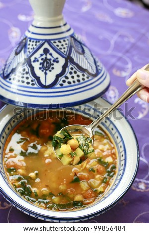Indian Curry - stock photo