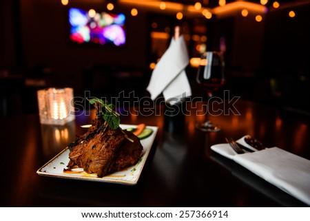 Indian food - stock photo