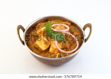 Indian food specialties - stock photo