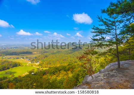 Indian Fort Lookout - stock photo