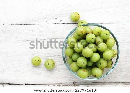indian gooseberry  - stock photo