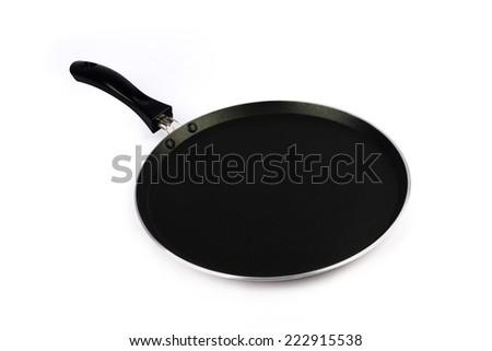 Indian Non-stick Tawa(Pan) - stock photo