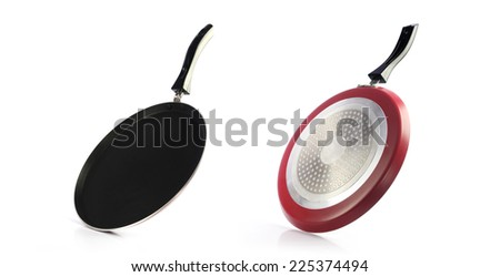 Indian Non-stick Tawa(Pan) - stock photo