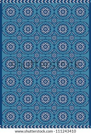 Indian Pattern Background - stock photo