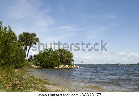Indian River in Melbourne, Florida