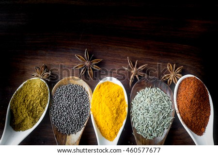 Indian Spices and Herbs