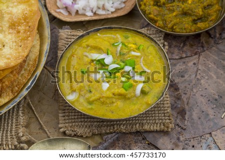 Indian Street Food Dal Pakwan
