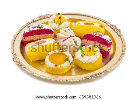 Indian traditional bengali sweet food know stock photo edit now indian traditional bengali sweet food also know as bangla sweet or bengali dessert isolated on white forumfinder Gallery