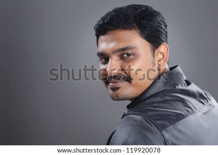 Indian Young Man - stock photo