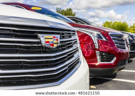 Indianapolis Circa September Cadillac Automobile Stock Photo - Cadillac dealers indianapolis