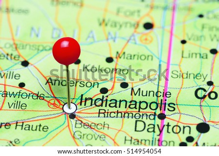 Indianapolis Stock Images RoyaltyFree Images Vectors - Indianapolis map usa