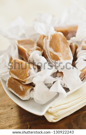 Individually Wrapped Caramel Candies