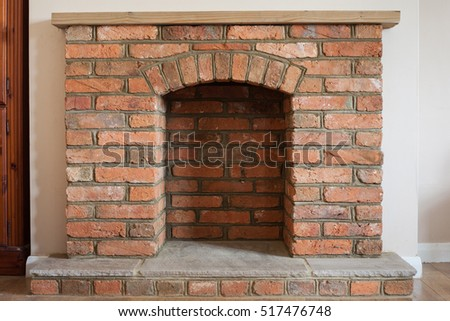 brick fireplace stock images royalty free images vectors shutterstock. Black Bedroom Furniture Sets. Home Design Ideas