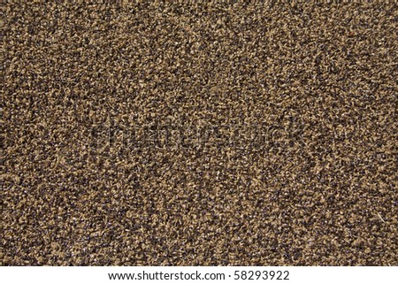 Indoor outdoor carpet texture