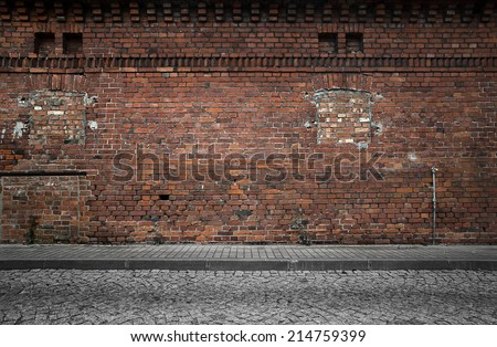 Industrial Background Empty Grunge Urban Street Stock ...
