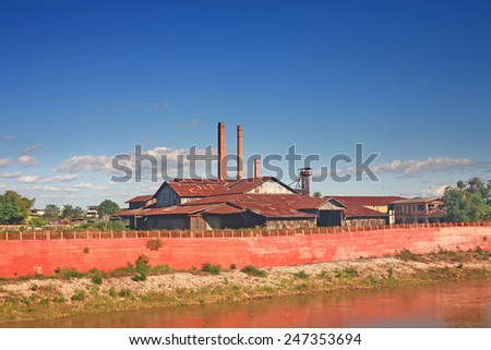 Industrial building - stock photo