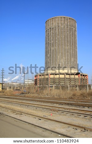 industrial building cooling tower