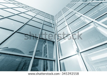 Industrial business architecture - stock photo