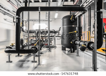 industrial chiller - stock photo