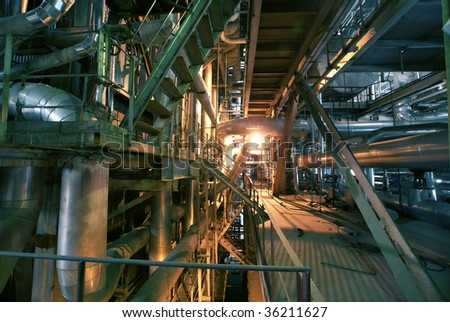 industrial concept background - stock photo