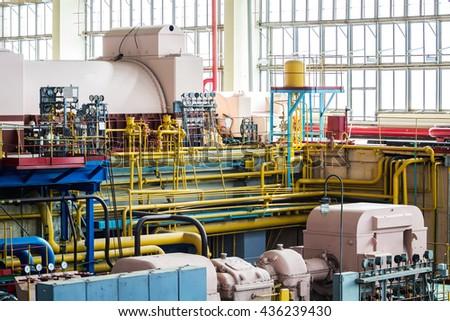 Industrial design factory - stock photo
