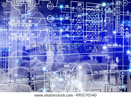 Industrial engineering construction technology
