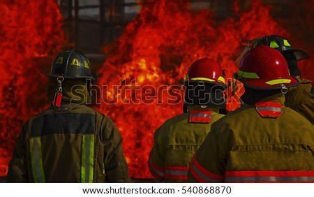 Industrial Fire Training for Fireman