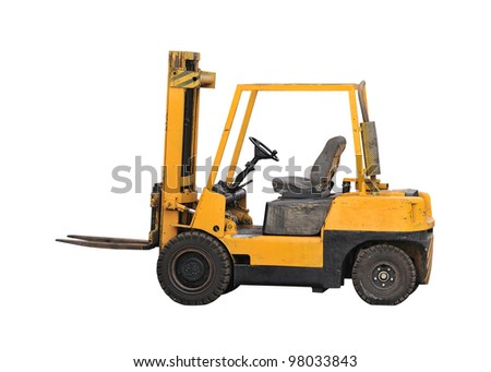 industrial fork lift truck