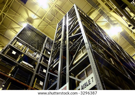 Industrial High-Rise Product Warehousing.