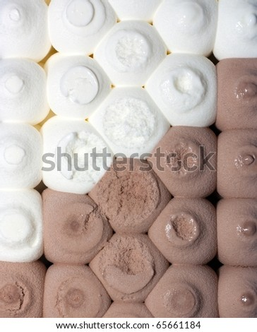 Industrial ice cream - stock photo