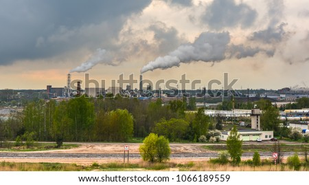 stock-photo-industrial-landscape-with-sm