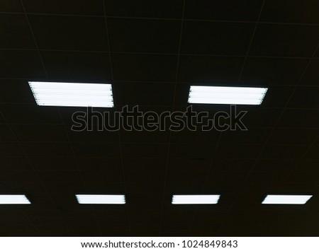 Industrial Lighting Panel Of Low Pressure Mercury Vapor Gas Discharge Lamp Lights