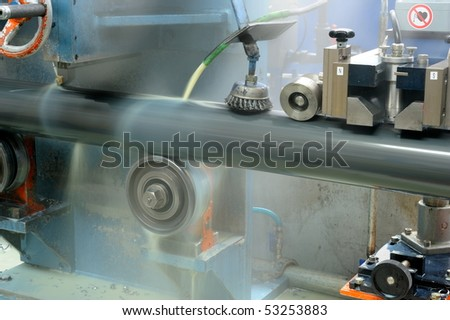 industrial machine - stock photo