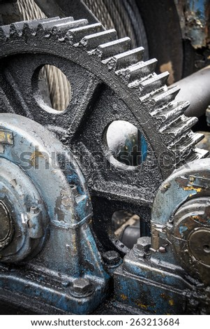 Industrial machinery - stock photo