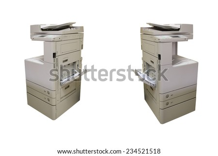 industrial Photocopying - stock photo