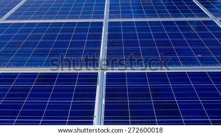 Industrial photovoltaic installation Solar power