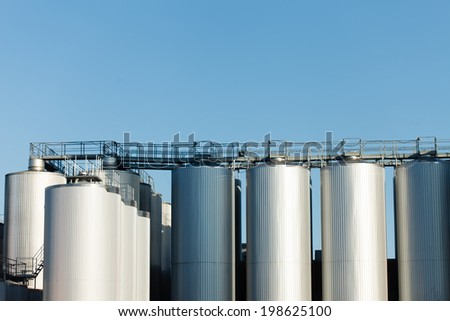 Industrial plant - stock photo