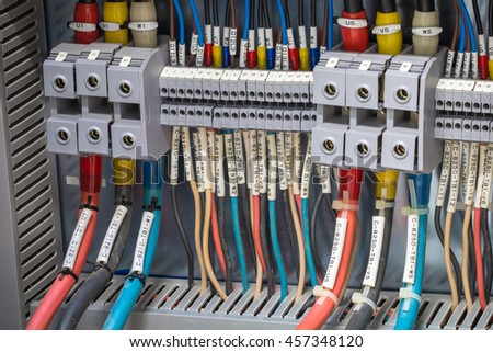 Industrial power cable and control terminal case