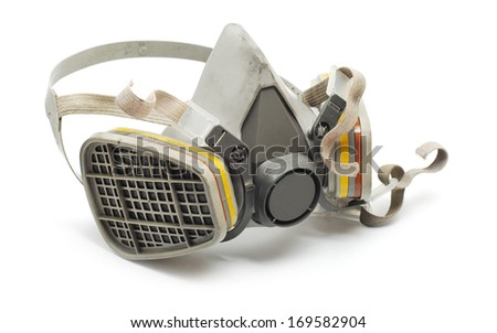 industrial  protection mask  - stock photo