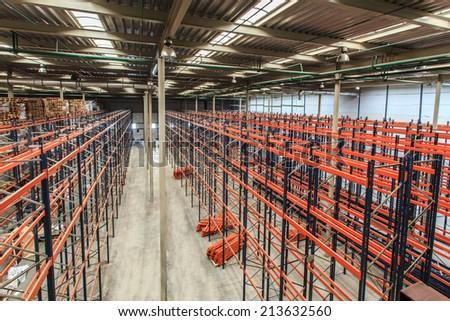 industrial racks  - stock photo