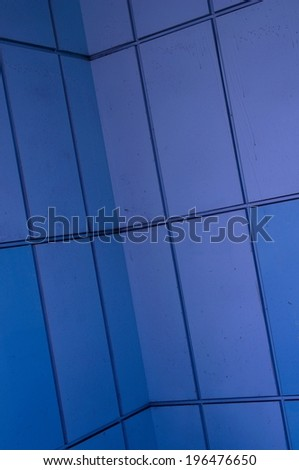 Industrial Steel Panel Facade