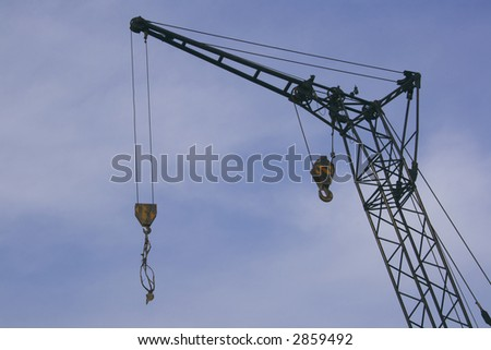 Industrial technique for building - stock photo