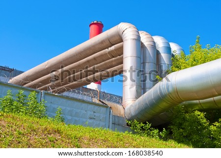 Industrial tubes of Power Station Cooling Towers