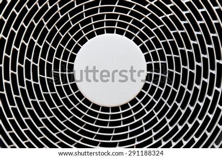 industrial ventilation fan - turbine air-compressor - stock photo